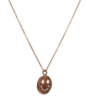 Image 4 ofHusam El Odeh Exclusive To ASOS Smiley Coin Necklace