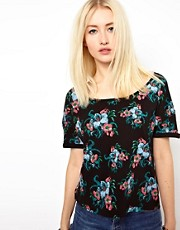Worn By Floral Tapestry T-Shirt