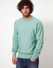 G Star Marc Newson Crew Sweatshirt Recycle Elbow
