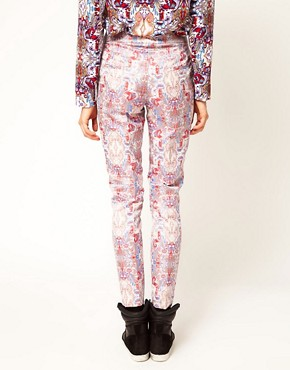 Image 2 ofASOS Africa Jacquard Trousers