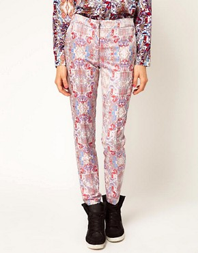 Image 4 ofASOS Africa Jacquard Trousers