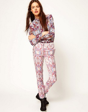 Image 1 ofASOS Africa Jacquard Trousers