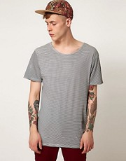 Afends T-Shirt Fly Solo Mini Stripe