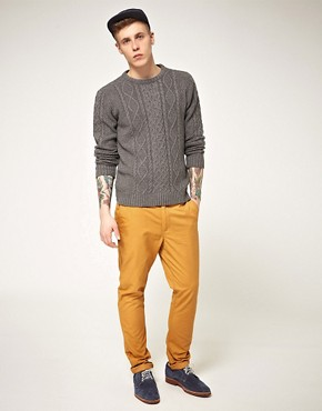 Image 4 of ASOS Slim Fit Chinos