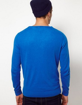Image 2 ofASOS V Neck Jumper