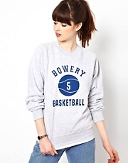 Pop Boutique Bowery Basketball Sweat Top