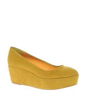 Image 1 ofASOS VERA Pointed Flatform Shoes