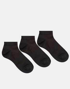 ASOS 3 Pack Trainer Socks