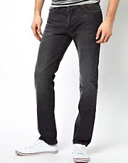 Paul Smith Jeans Drainpipe Jeans in Grey Denim