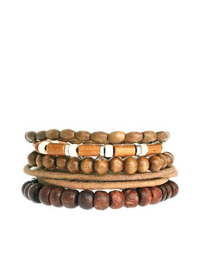 Image 1 ofASOS Pacific Bracelet Pack