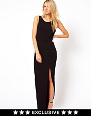 Love Maxi Dress with Cowl Back