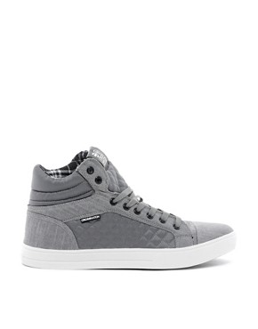 Image 4 ofCrosshatch Tolfa Hi-Top Trainers