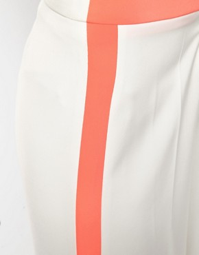 Image 3 ofAqua Mornay Trouser with High Waist and Side Stripe