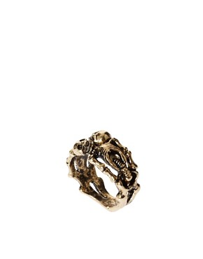 Image 1 ofASOS Lovers Skeleton Ring