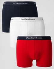 Polo Ralph Lauren 3 Pack Trunks