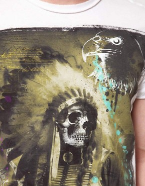 Image 3 ofAmplified Dark Souls Sitting Bull Print T-Shirt