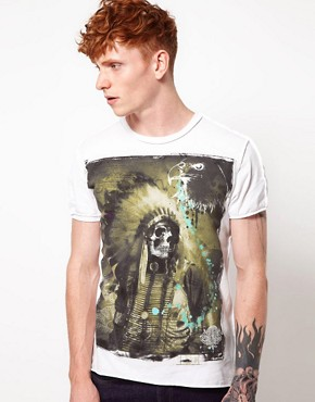 Image 1 ofAmplified Dark Souls Sitting Bull Print T-Shirt