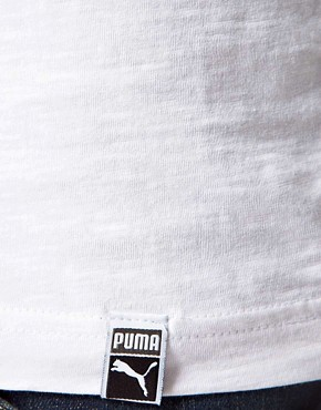 Image 3 ofPuma Deep V Neck T-Shirt