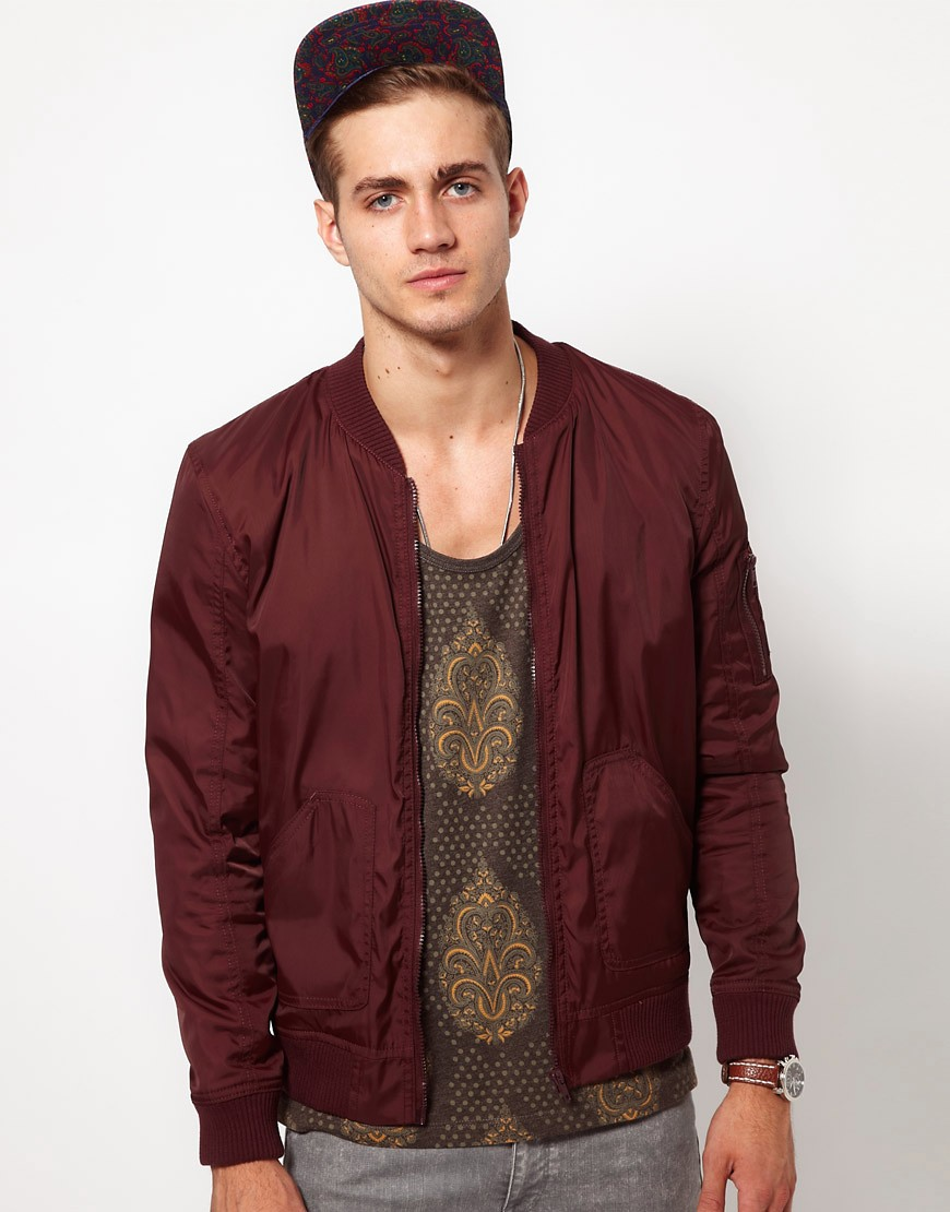 Image 1 of ASOS Bomber Jacket
