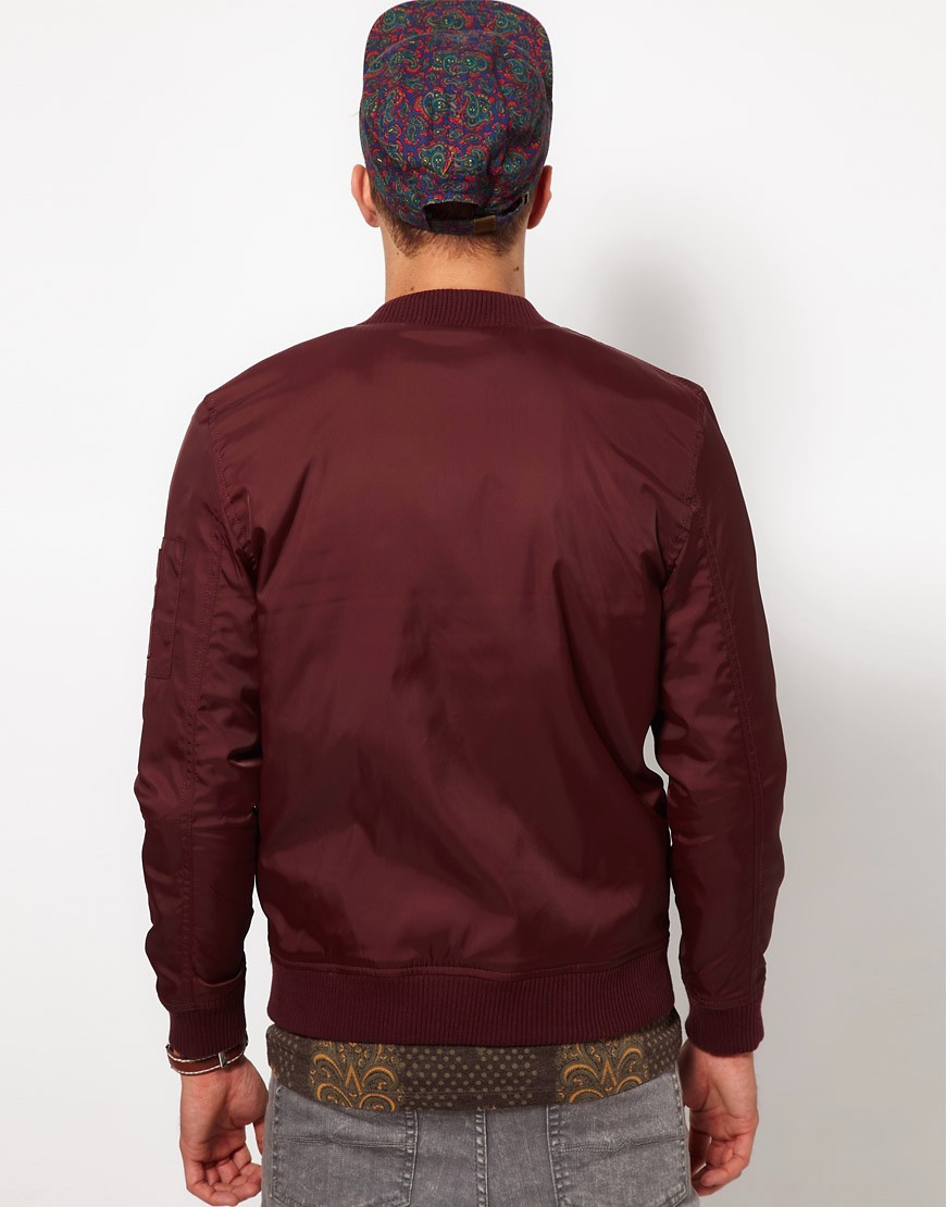 Image 2 of ASOS Bomber Jacket