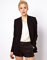 ASOS Premium Blazer With Longline Lapel