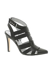Senso Cadena I Black Strappy Heeled Shoes