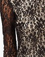 Image 3 ofMotel Low Back Bodycon Lace Sequin Dress