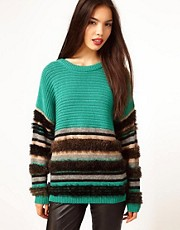 Dagmar Heavy Textured Knit Sweater