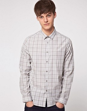 Image 1 ofASOS Slim Fit Checked Shirt