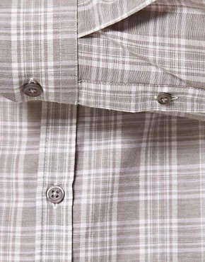 Image 3 ofASOS Slim Fit Checked Shirt