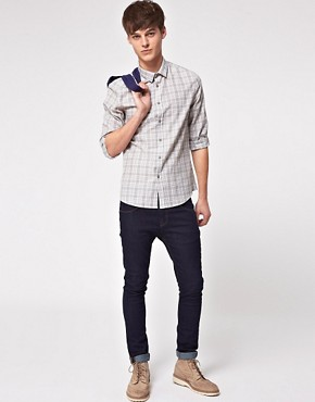 Image 4 ofASOS Slim Fit Checked Shirt