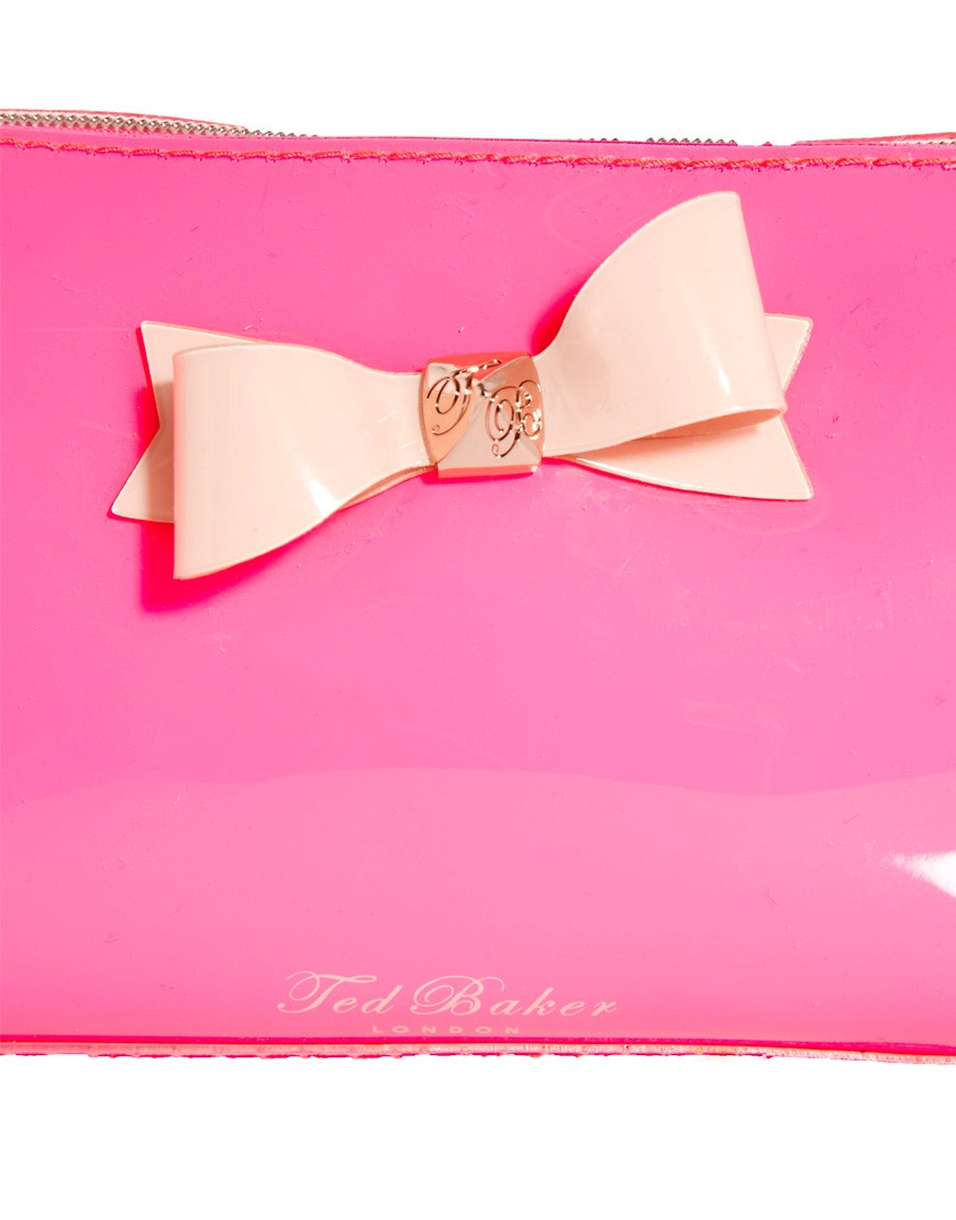 Image 3 of Ted Baker Bright Bow Make-Up Case