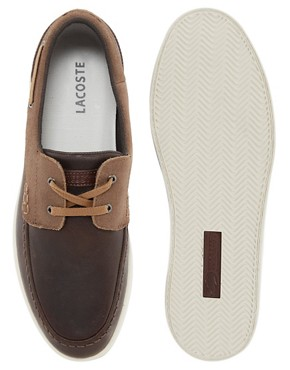 Image 3 ofLacoste Arverne Boat Shoes