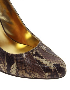 Image 3 of Ted Baker Exotic Leather Court Shoes