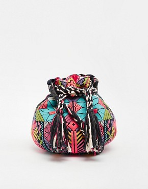 Star Mela Selma Embroidered Duffle Bag