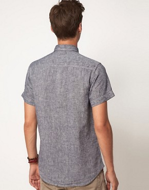 Image 2 ofJack &amp; Jones Earth Short Sleeve Shirt