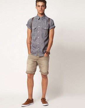 Image 4 ofJack &amp; Jones Earth Short Sleeve Shirt