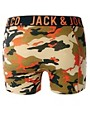 Image 2 ofJack &amp; Jones Camo 4 Pack Trunks