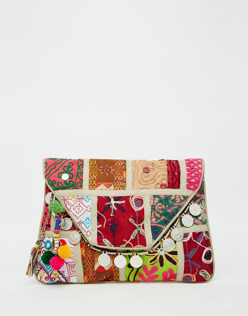 Raga Patchwork Festival Bag - Multi