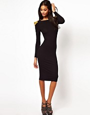 ASOS Bodycon Dress with Stud Detail
