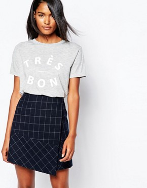 Whistles T-Shirt with Tres Bon Print
