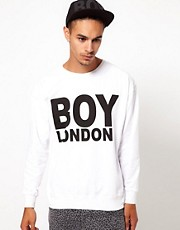 BOY London &ndash; Sweatshirt mit Logo