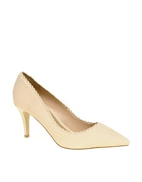 Image 1 ofASOS PING PONG Leather Point Heels