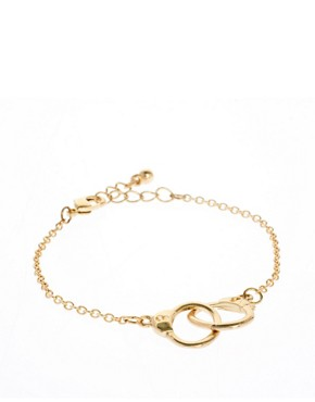 Image 1 ofASOS Handcuff Ditsy Bracelet