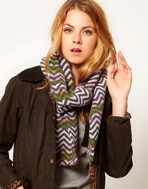 Image 1 ofQuinton &amp; Chadwick Zig Zag Scarf