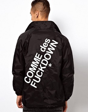 Image 2 ofComme Des F Down Coach Jacket