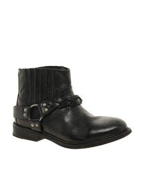 Image 1 ofH by Hudson Dante Short Biker Ankle Boots