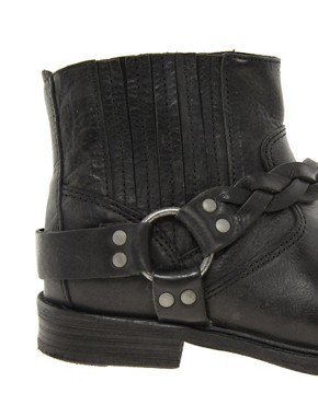 Image 3 ofH by Hudson Dante Short Biker Ankle Boots
