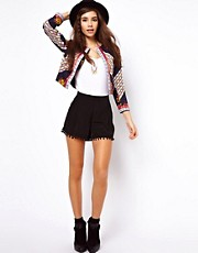 ASOS Shorts with Pom Pom Hem