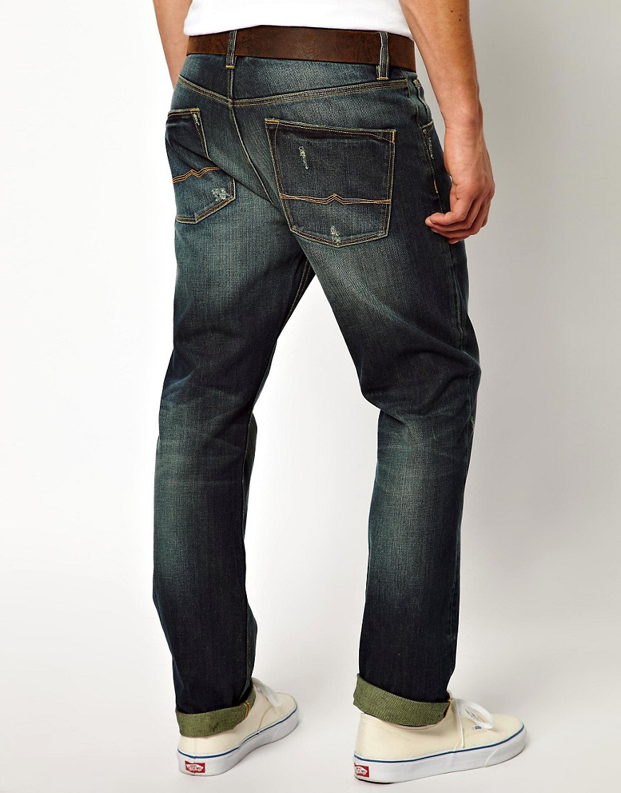 Image 2 of ASOS Straight Jeans With Rips